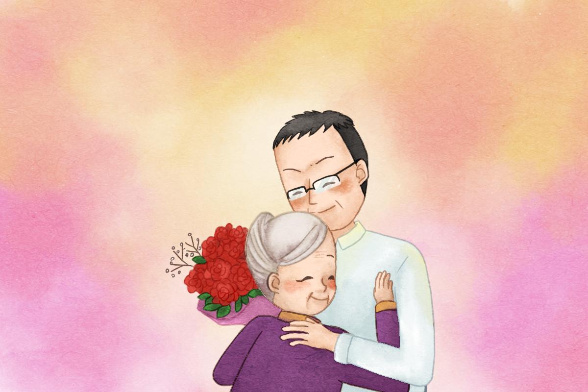 【漫畫版】莊偉:將感恩之心唱入母心